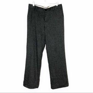 Banana Republic Wide Leg Wool Blend Trousers